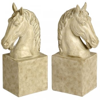 Pair of Horse Head Sturdy Bookends