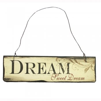 Heaven Sends DREAM Sweet Dream Small Hanging Sign
