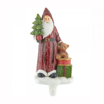 Gisela Graham Santa Stocking Hanger