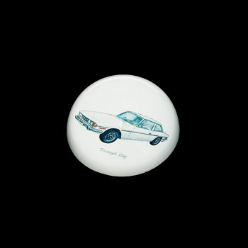 Leonardo Collection Triumph Stag Crystal Glass Paperweight