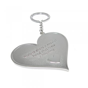 "Love The Links ""Sister's Share A Special Bond That Lasts A Lifetime"" Metal Heart Keyring"