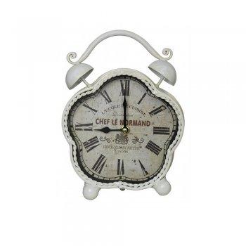Cream Chef Le Normand Table Clock
