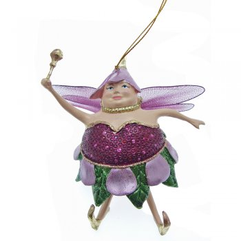 Fat Fairies Fat Fairy Plum Christmas Tree Decoration