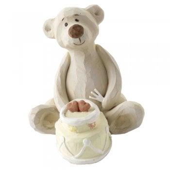Heaven Sends Bear Necessities Yummy Bear Figure