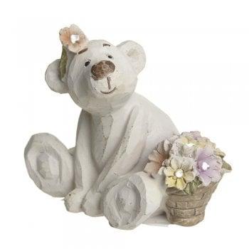Heaven Sends Bear Necessities Fleur Bear Figure