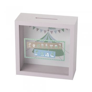 Heaven Sends Festival Fund Wooden & Perspex Money Box