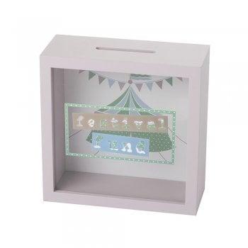 Heaven Sends Festival Fund Wooden & Perspex Money Box