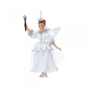 Gisela Graham Fairy Godmother Resin & Fabric Christmas Tree Decoration