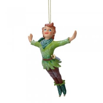 Gisela Graham Peter Pan Resin Christmas Tree Decoration