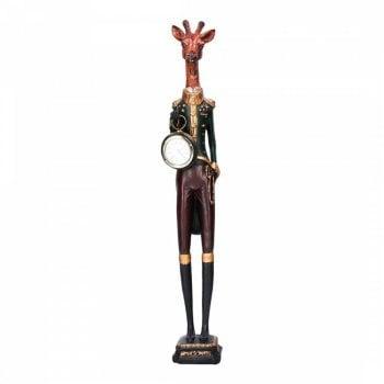 Gisela Graham Gentleman Giraffe with a Watch Ornament