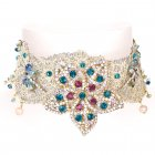 Rosie Fox Lace Choker (Turquoise)