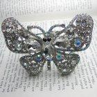 Lemonade Swarovski Crystal Sparkle Butterfly Cuff Bracelet