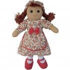 Powell Craft 40cm Rag Doll Wearing a Vintage Floral Print Dress