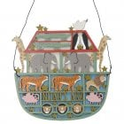 Gisela Graham Wooden Fretwork Noah's Ark Decorative Plaque
