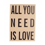 Heaven Sends ALL YOU NEED IS LOVE Plaque