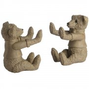 Pair of Teddy Bear Sturdy Bookends