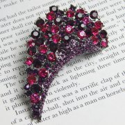 Rosie Fox Pink Electra Brooch Hair Accessory