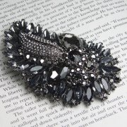 Rosie Fox Dark Dazzle Showstopper Brooch Pendant