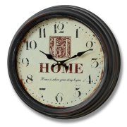 Home is Where Your Story Begins Wall Clock