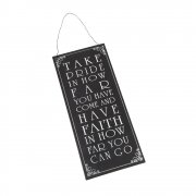 Heaven Sends Take Pride Metal Hanging Sign
