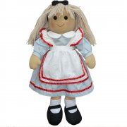 Powell Craft 40cm Alice Rag Doll