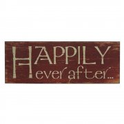 Heaven Sends HAPPILY Ever After Plaque