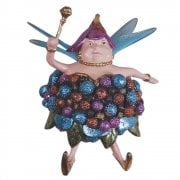 Fat Fairy Blueberry Queen Christmas Tree Decoration