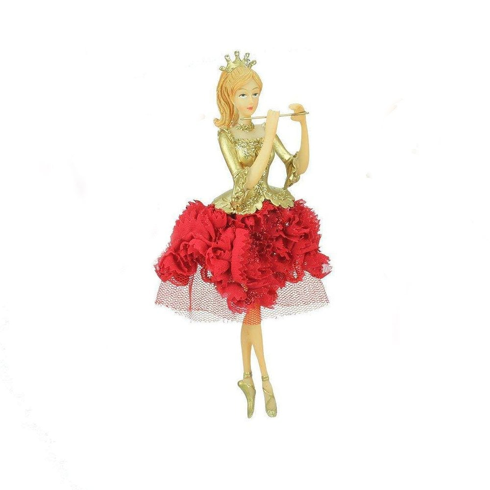 Gisela Graham Fairy Princess Christmas Tree Decoration Silver Blue Pink Fairies